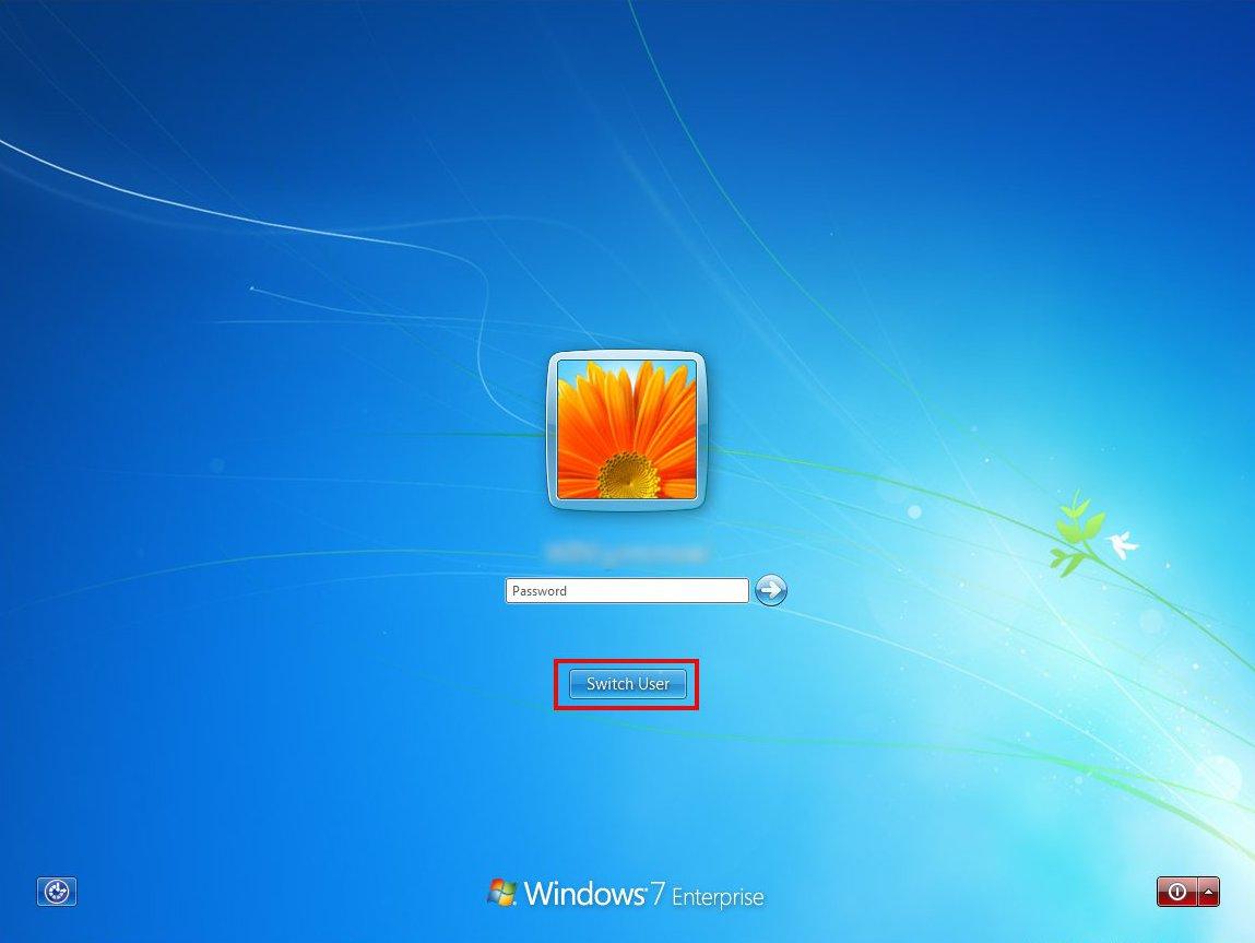 Стандартный экран приветствия выглядит так. А экран при нажатии Ctrl