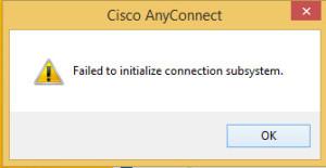 ciscovpn-error