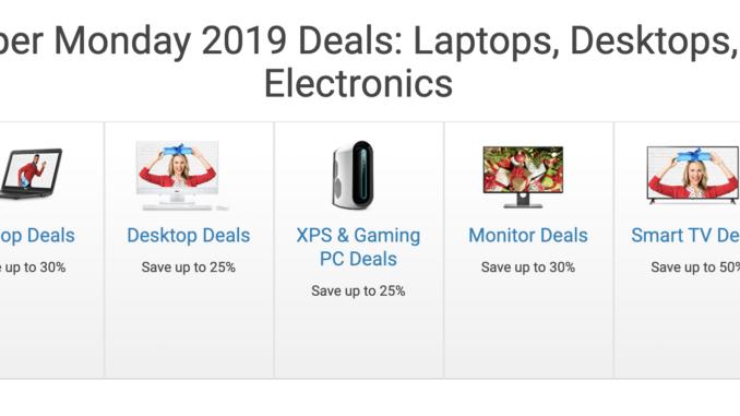 Dell Cyber Monday Deals Kombitz